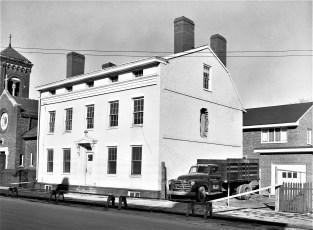 Mt. Carmel Church Old Parish House Hudson 1955 (1)