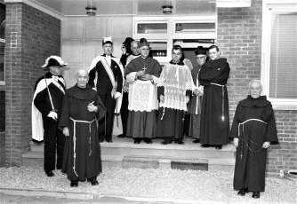 Mt. Carmel Church Opening of New Parish House Hudson 1955 (1)