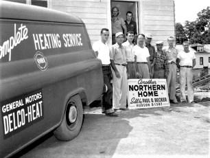 Northern Homes Paul Becker Hudson 1958