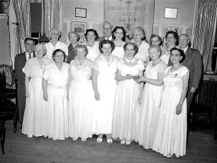 Odd Fellows Hudson City Lodge 1958
