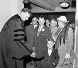 Opening of new Reformed Church Hudson 1957 (3)