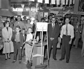 Smith's Tire Shop Anniversary Sale Hudson 1956 (2)