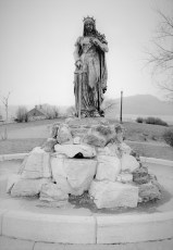 St. Winifred on Promenade Hill donated in 1896 by Gen. DePeyster Hudson 1956
