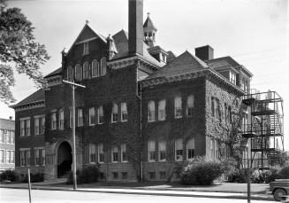 4th Street School Built in 1893 State Street Hudson 1960