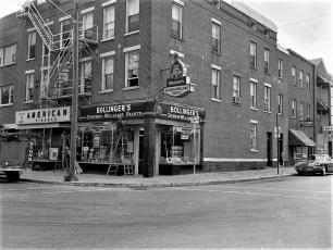 Bollinger's Paint Store Warren St. Hudson 1960