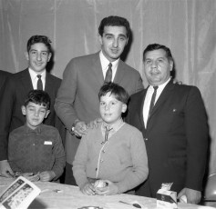 Hudson LL Banquet with Joe Pepitone 1964 (4)