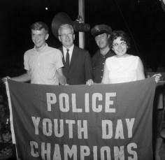 Hudson Police Dept. Youth Day 1964 (5)