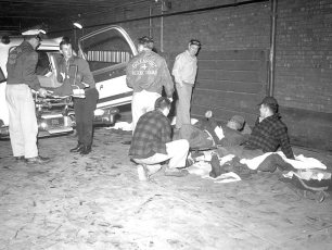 Hudson Rescue 7 & Greenport Rescue joint disaster tests 1960 (1)