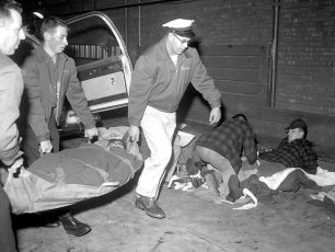 Hudson Rescue 7 & Greenport Rescue joint disaster tests 1960 (2)