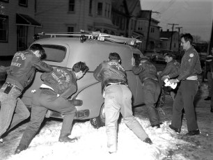 Hudson Rescue 7 & Greenport Rescue joint disaster tests 1960 (5)
