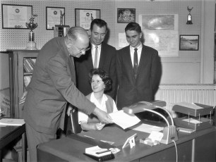 Hudson Youth Day Mayor for a Day 1961 (1)