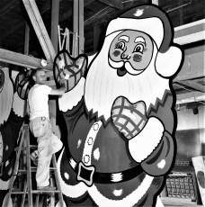 Len Cordato Santa Claus signs 1963 (1)