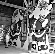 Len Cordato Santa Claus signs 1963 (2)