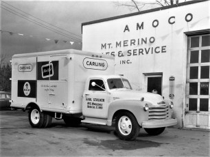 Mt. Merino Service Station Hudson 1961