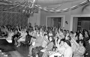 Pocketbook Union Local 24 meeting at General Worth Hotel Hudson 1964 (1)