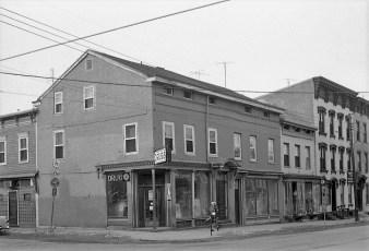 Snyder's Drug Store 3rd & Warren Street Hudson 1961