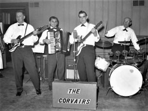 The Corvairs Frank Stodolski, Tom Koulos, Gene Davis, Tom Curtis Hudson 1963