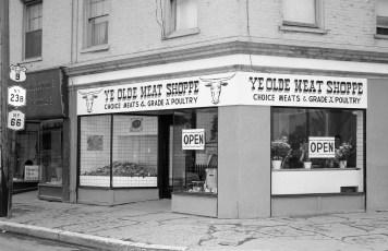 Ye Olde Meat Shoppe Grand Opening Park Place Hudson 1963 (1)
