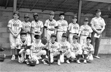 Elk's Little League Hudson 1968 (1)