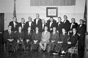 Hudson Elks Lodge #787 welcomes new members 1967