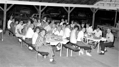 Hudson Jaycees Barbecue at Widows Creek Stockport 1967