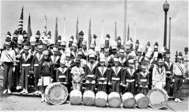 Hudson Moose Lodge Continental Cadets 1968
