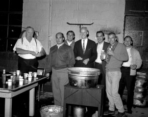 Jr. Chamber of Commerce Steak & Clam Bake Canape's Garage Hudson 1965 (1)