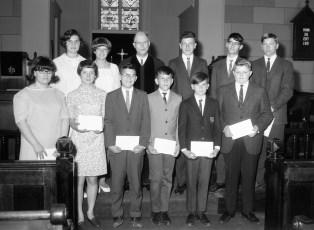 Methodist Church Confirmation Hudson 1967