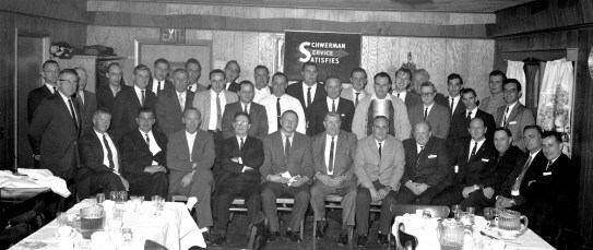 Schwerman Trucking Annual Banquet at Kozals 1965 (1)