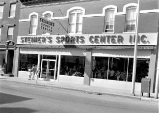 Steiner's Sport Center Grand Opening of new store Warren St.  Hudson 1965 (1)