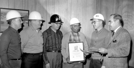 Universal Atlas Cement Co. Safety Awards Hudson 1966