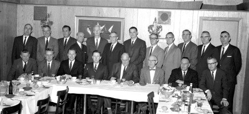 Universal Atlas Cement banquet at Kozel's 1966