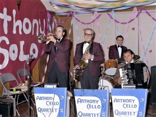 Anthony Cello Quartet Hudson 1973