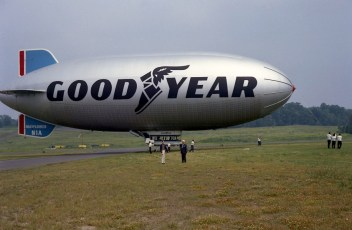 Blimp here for Smith Tire Shop's 50th Anniversary 1970 (1)