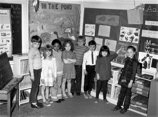 Charles Williams School Hudson 1971