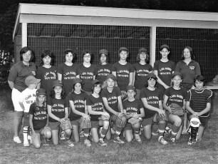 Girl's Softball League Teams 1975 (3)
