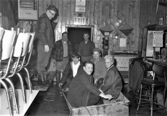 Hudson Boat Club flood April 1970 (1)
