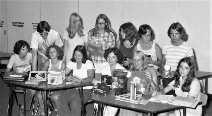 Hudson Lions Leo Club Auction Committee 1976