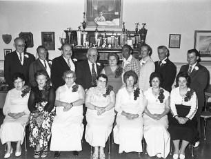 Loyal Order of Moose Annual Banquet Hudson 1974