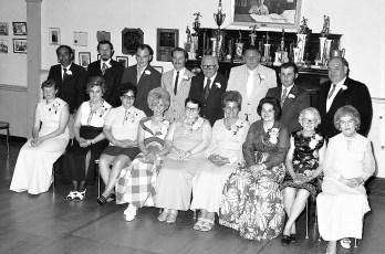 Moose Lodge 1184 Ladies Aux. Officers Hudson 1973