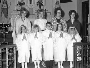 Mount Carmel Church 1st. Communion Hudson 1974 (2)