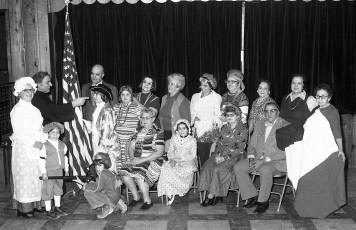 Mt. Carmel Church Bicentennial Dance Hudson 1976