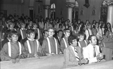 Mt. Carmel Church Confirmation Hudson 1974 (2)