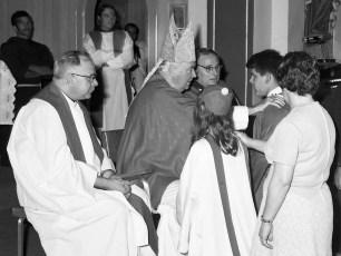 Mt. Carmel Church Confirmation Hudson 1974 (4)