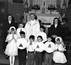Sacred Heart Church First Communion Hudson 1971