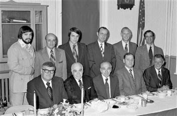 Washington Hose Co. Annual Banquet Hudson 1975