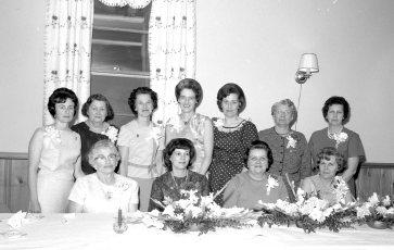 Clermont Fire Aux. Annual Banquet 1966