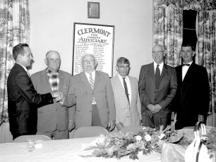 Clermont Fire Co. Life Member Awards 1964