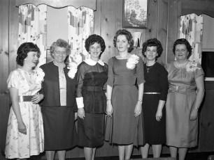 Clermont Fire Ladies Aux. Annual Banquet 1963