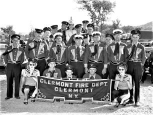 Clermont Firemen at Caanan Parade 1956